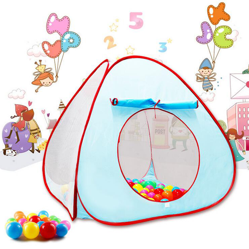 ball no include Funny gadgets Children Tent Toys outdoor game Ocean Ball tent pit pool