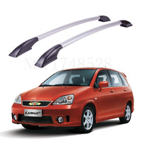 Accessories Refitting the roof rack of aluminum alloy luggage rack for Suzuki liana Auto parts 1.6M
