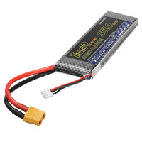 2017 Newest Tiger Power 7.4V 3500mAh 60C 2S Lipo Battery XT60 Plug For RC FPV Racing Drone Quadcopter Spare Parts Accessories