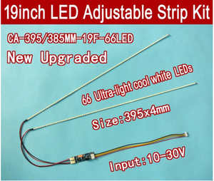Image 4 - Free Delivery. The article 15 to 24 inch universal LCD LED lights change LCD LED upgrade kit Adjustable brightness 540 mm