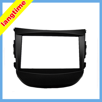 Автомобильная установка DVD рамка, DVD панель, Dash комплект, фасция, Радио Рамка, аудио рамка для 2012 HYUNDAI HB20, 2DIN