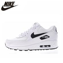 best website e9fb8 64c12 NIKE AIR MAX 90 essentiel chaussures de course pour hommes et femmes blanc  respirant amortisseur léger 325213 131