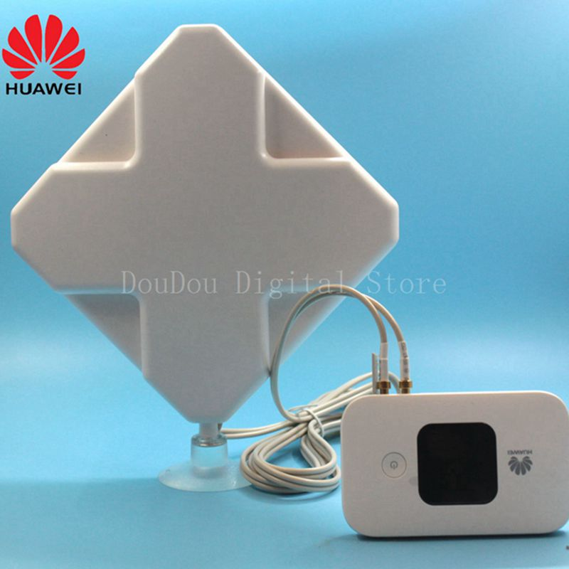 Unlocked New HUAWEI E5577 with Antenna 4s