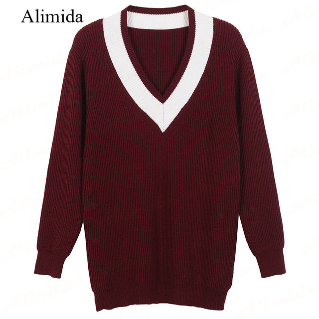 Aliexpress.com : Buy Spring Fall 2017 New Fashion Women Sweater V ...
