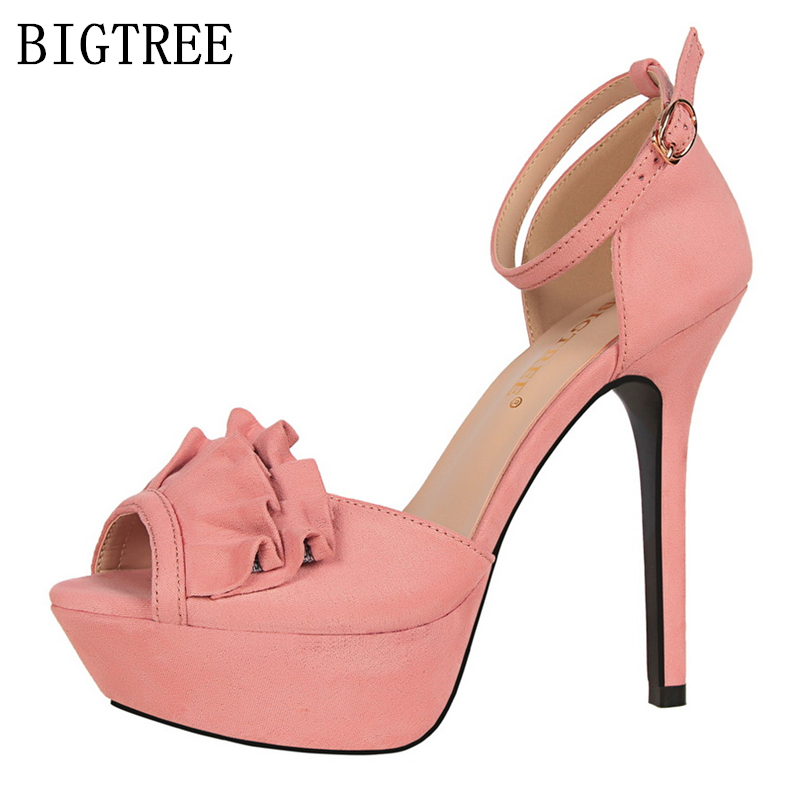 elegant mary jane shoes sandals women luxury brand platform sandals designer bigtree shoes sandalias tacon mujer red pink shoes mary sterling jane algebra ii essentials for dummies
