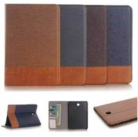 High Quality Luxury Cross Pattern Stand Leather Cases For Samsung Galaxy Tab A 8 0 T350