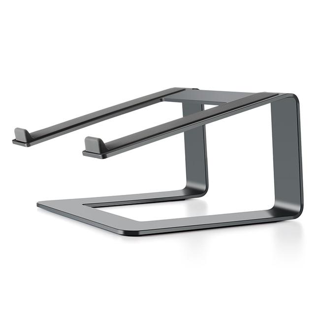 ユニバーサルラップトップスタンドデスクエレベーターノートライザーアルミノートブック冷却用スタンド適用 macbook pro の空気 11 17 インチ