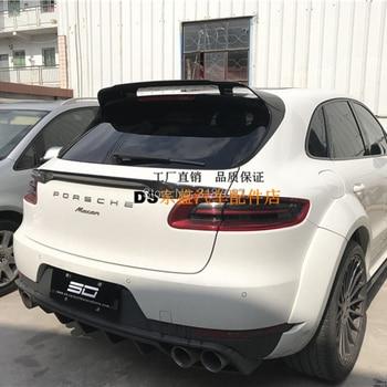 Voor Porsche Macan 2014-2017 Auto Styling Koolstofvezel Dakspoiler Lip Venster Top Wing