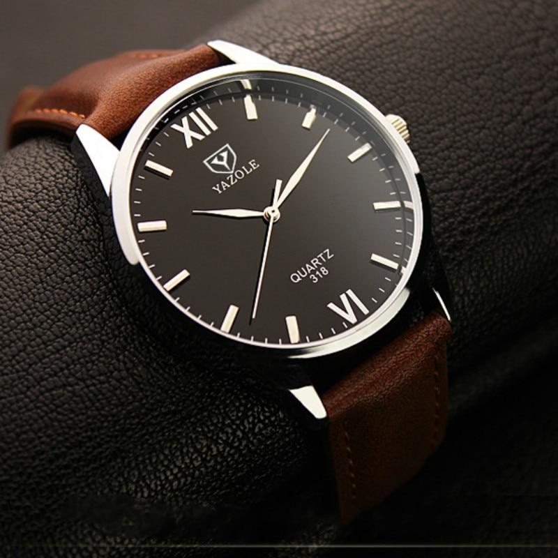 YAZOLE Quartz Watch Men 2018 Top Brand Luxury Famous Wristwatch Male Clock Hodinky Quartz-watch Relogio Masculino Montre Homme