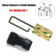 Electric drum Drum Accessories Sheet Sensor Pedal Rubber Actuator Replacement Part Fits For Roland HD-1 Hi Hat