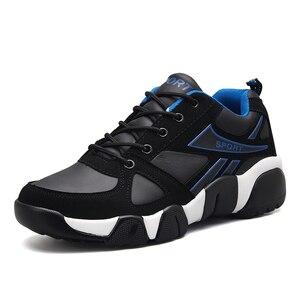 Image 4 - AODLEE Sneakers erkekler rahat ayakkabılar deri çift erkek ayakkabı rahat nefes erkekler Sneakers eğitmenler tenis masculino adulto
