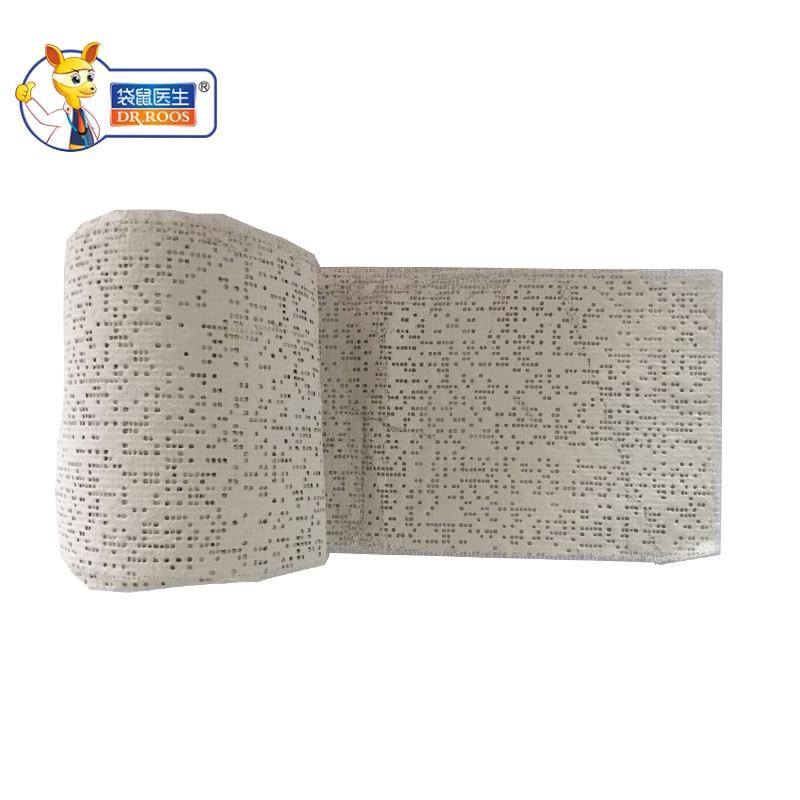 Free Shipping 10x460cm 1Roll Plaster Gauze Bandages Medical Plaster Bandages Plaster Bandage Rolls