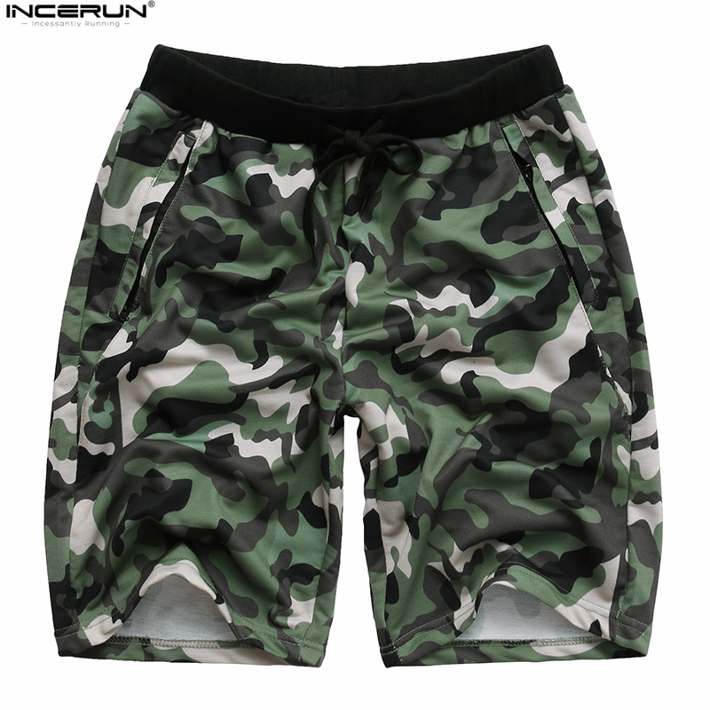 Mens Summer Casual Shorts Fitness Short Joggers Casual Gyms Men Shorts Bodybuilding Camouflage Camo Cargo Shorts Men