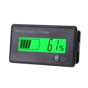 12V-84V Lead-acid Battery Capacity Indicator Voltage Meter Voltmeter LCD Monitor(China)