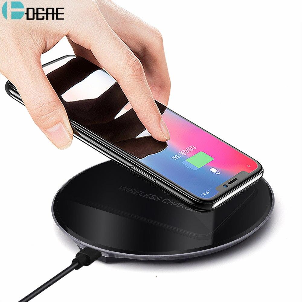 Hoco Drahtlose Ladegerät Für Iphone X Xr Xs 8 Qi Wireless Charging Pad Für Samsung S9 S8 Plus Xiao Mi Mi 9 Usb Handy Ladegerät Kabellose Ladegeräte Handy-zubehör