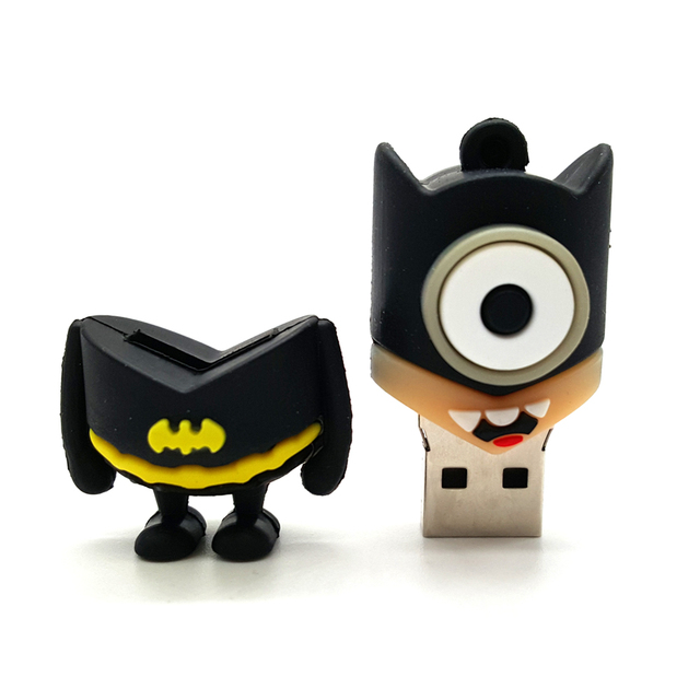 Lovely Super Hero Minions Flash Drive