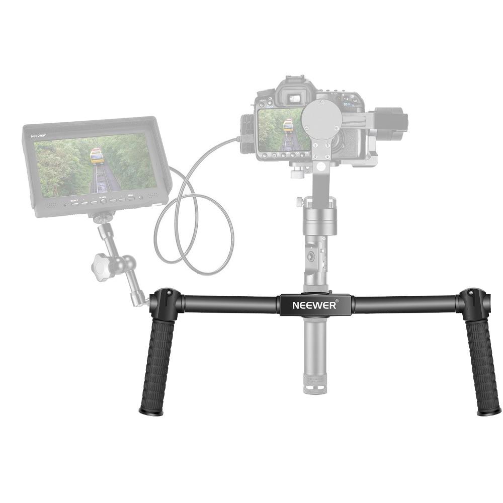 Handheld-Grip Stabilizer Neewer Zhiyun/crane-M Dual for 3-Axis Gimbal