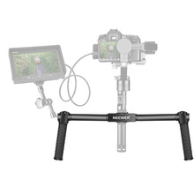 Neewer Dual Handheld Grip für Neewer Kran/Kran M/Zhiyun/Kran M 3-achsen 10092269 Stabilisator 1,5 füße/46,5 cm Kamera Gimbal