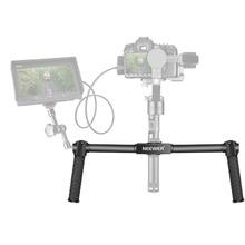 Neewer Dual Handheld Grip for Neewer Crane/Crane M/Zhiyun/Crane M 3-Axis 10092269Stabilizer 1.5 feet/46.5 cm Camera Gimbal
