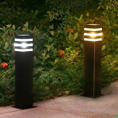 garden park LED pole lamp light outdoor porch light lamp passage walkway rod bollard LED lawn post light lamp light