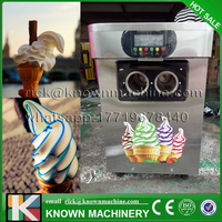 The CE certified 304 stainless steel food grade 220/110 V 50/60 HZ taylor/rainbow soft ice cream machine Malaysia on hot sale