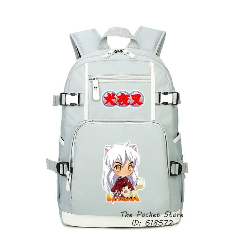 Anime InuYasha InuYasya HigurashiKagome Cosplay Printing Kawaii Women Backpack Canvas School Bags Laptop Backpack Travel BagsAnime InuYasha InuYasya HigurashiKagome Cosplay Printing Kawaii Women Backpack Canvas School Bags Laptop Backpack Travel Bags