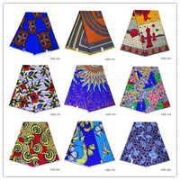 Lasted ankara african print 100% cotton wax prints fabric real soft Java wax wholesale all water design 1305 11