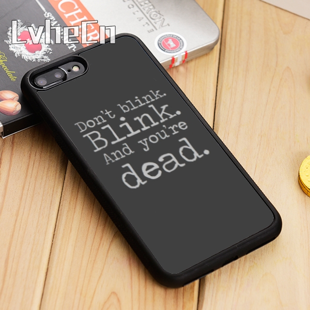 Fitted Cases Sweet-Tempered Lvhecn Doctor Who Don T Blink Phone Case Cover For Iphone 5 5s Se 5c 6 6s 7 8 X Samsung Galaxy S5 S6 S7 Edge S8 S9 Plus Note 8