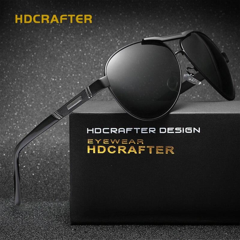 8907985531 ... para hombres gafas Accesorios. Cheap HDCRAFTER gafas de sol de aluminio  polarizadas clásicas de magnesio Marco de aleación gafas de
