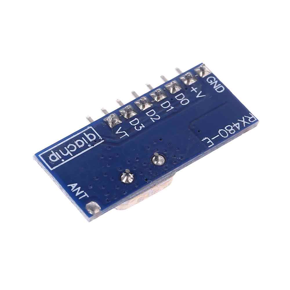 433 MHz RF Code Learning Receiver Module 1527 Wireless Decoder 4 Output Channel For Remote Control