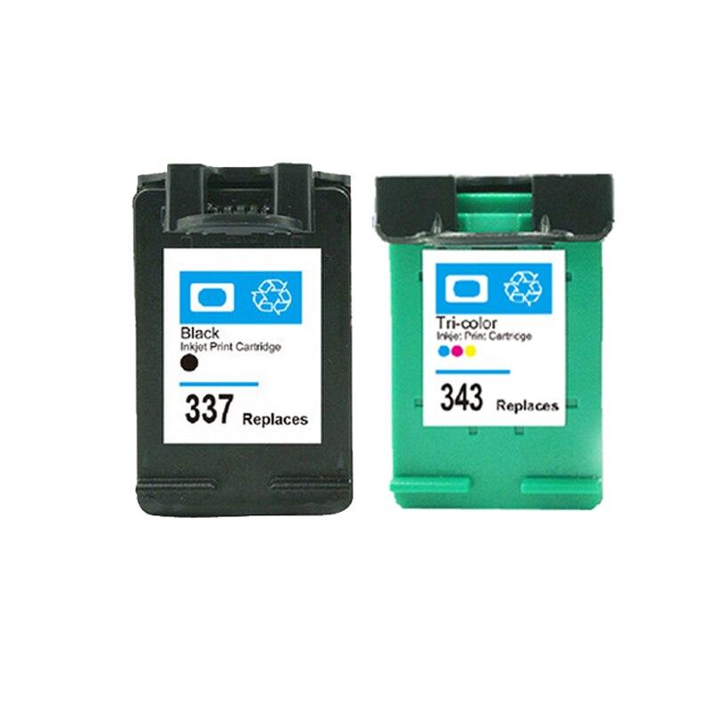 Für HP 337 343 tintenpatrone Für HP337 343 Photosmart C4180 C4190 2575...