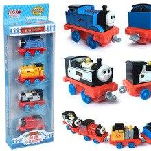 Thomas & Friends Diecast Kendaraan Mainan Paduan Kemunduran Kecil Set Kereta Model Mainan Kartun Anime Thomas Anak Hadiah Set Anak Laki-laki mainan