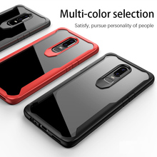 ФОТО drlmm for oneplus 6 all-inclusive transparent protective shell for one plus 6 soft tpu silicone back cover protective case