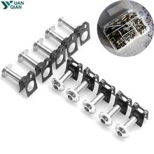 CNC алюминий 6 мм обтекатель Болты комплект для Honda VT1100 VT 1100 VT-1100 CBR929RR CBR 929RR CBR-929RR CBR600RR CBR 600RR CBR-600RR