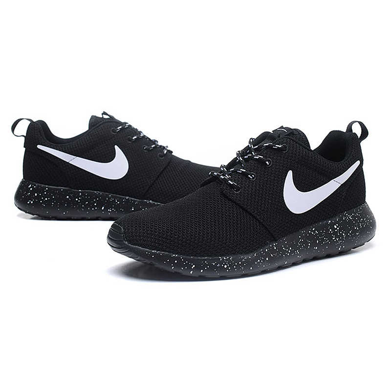 b8ea841a4300 ... Original New Arrival Authentic Nike Men s ROSHE RUN Mesh Breathable  Running Shoes