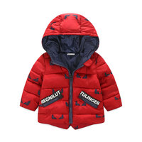 Despicable Me 3 10years Boys Winter Spring Clothes Baby Boys Cotton Warn Jacket Kids Hooded Jackets