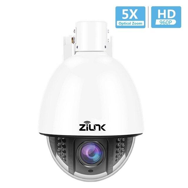 Caméra dôme haute vitesse ZILNK HD 960 P 5X Zoom 2.7-13.5mm caméra IP PTZ sécurité CCTV Vision nocturne extérieure prise en charge Onvif P2P IPC