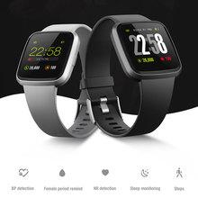 Смарт-браслет V12C смарт-Браслет фитнес-трекер кровяное давление браслет с датчиком IP67 водонепроницаемые спортивные Смарт-часы