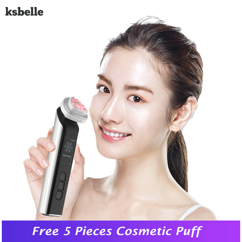 цена на Handheld Anti-aging RF Therma Facial Skin Lift Tightening machine Anti-Aging Skin Firming Wrinkle Removal Beauty Apparatus