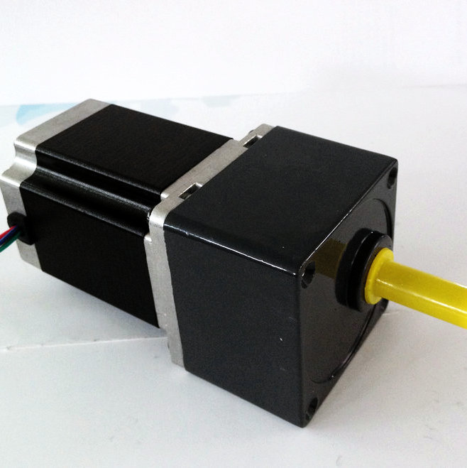 ФОТО 2 phase NEMA 23 57mm Gearbox Stepper Motor 57HS56-2804SG15 Gearbox Reduction Ratio 15:1
