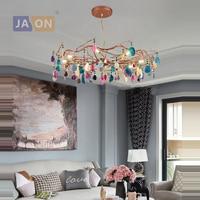 led g9 Postmodern Iron Agate Firefly Designer LED Lamp LED Light.Pendant Lights.Pendant Lamp.Pendant light For Foyer Bedroom