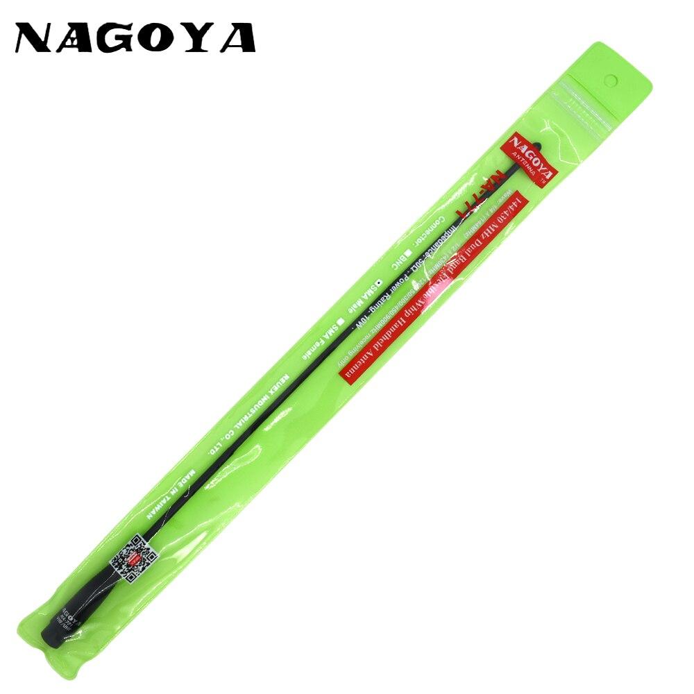 Original Nagoya NA-771 SMA-M Male Dual Band Soft 144/430MHz Antenna for Baofeng UV-3R For Yaesu VX-3R VX-7R TYT