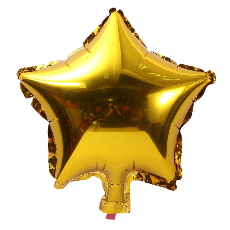 10pcs/lot 10 inch Five-Pointed Star Foil Balloon For Baby Shower And Wedding Decorations 1