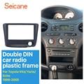 Seicane 173*98 мм двойной Дин радио фасции для 1999-2005 Toyota Vitz Yaris, echo монтажная рамка Dash CD DVD плеер панель