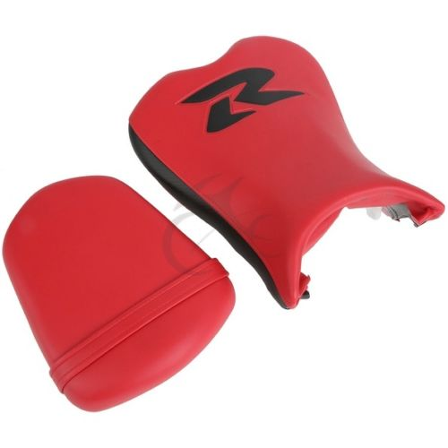 Red Front Rear Seat Cushion Combination For Suzuki GSX-R GSXR 600 750 2006 2007 GSXR600 GSXR750 06-07 Red