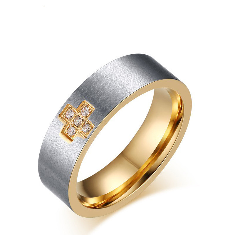 SIZZZ Latest design cross wedding band men rings bridal jewelry  factory China  Mainland Popular Design Wedding Bands Buy Cheap Design Wedding Bands lots  . Mens Cross Wedding Band. Home Design Ideas