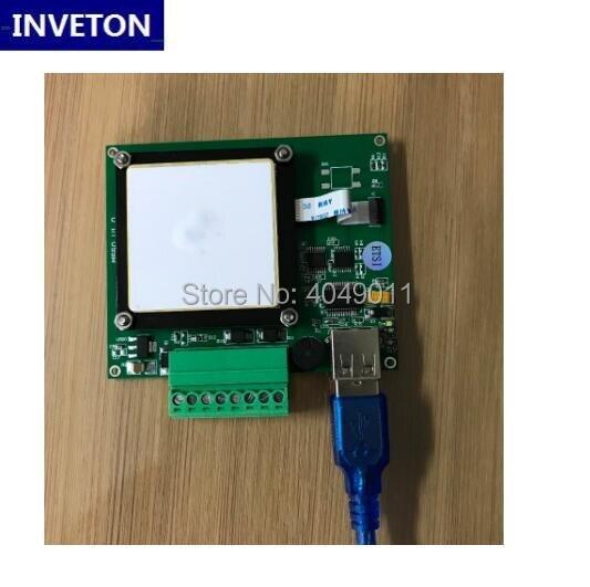 US $97 0 |PR9200 chip Desktop USB UHF RFID Reader writer 3m long range uhf  RFID module with free SDK and testing tag for Raspberry pi-in Control Card