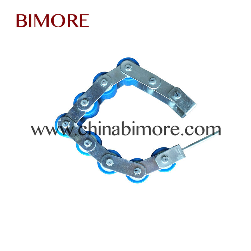 KM5130070G01 Kone Escalator Handrail Support Chain 8 Rollers Roller Size OD60mm Thickness 55mm