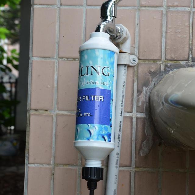 1 pcs r servoir d 39 eau piscine filtre tuyau raccord maison jardin jardinage irrigation goutte - Filtre a eau maison ...