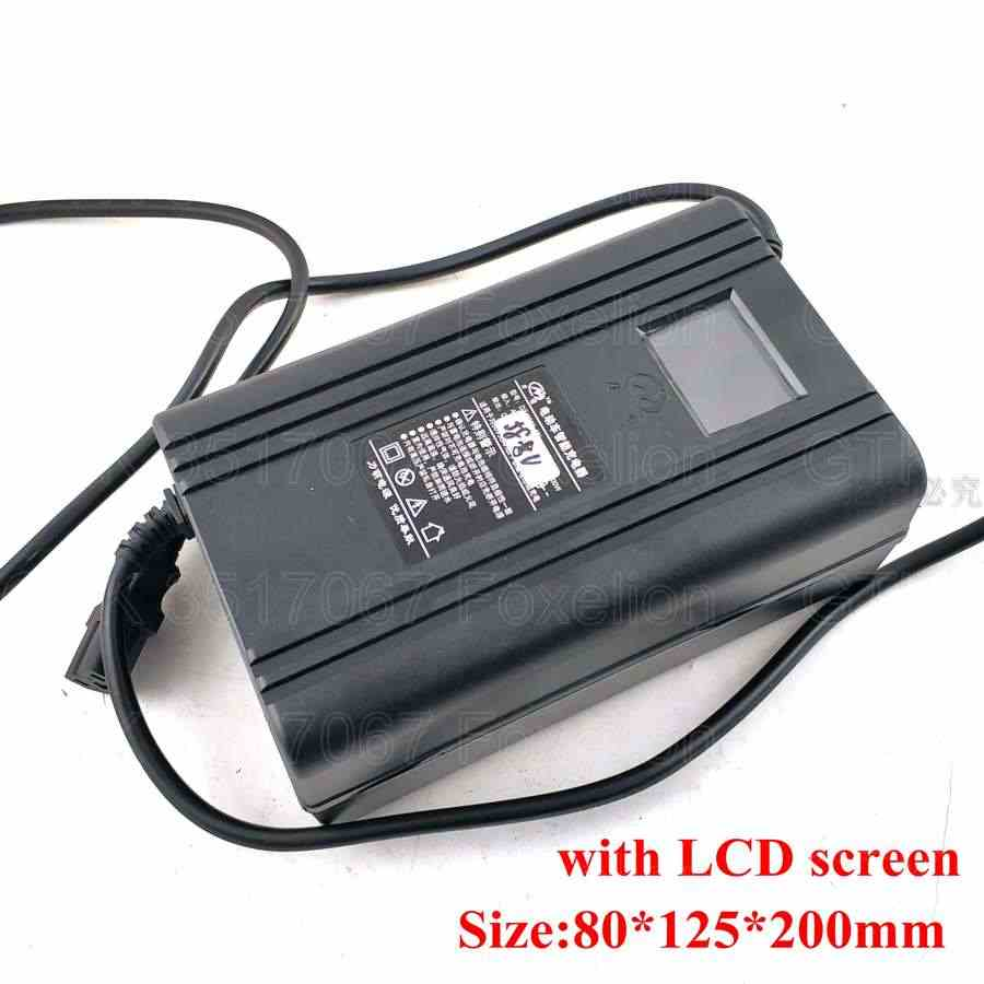 48v 60v 72v 9.5A Lithium Lifepo4 LTO Battery 6.5A Charger for EV Scooter Ebike LCD Screen Display 80Ah 50Ah 100Ah 10A Charger